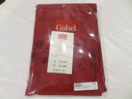 Gabel set 1+1 ricamo bordo'